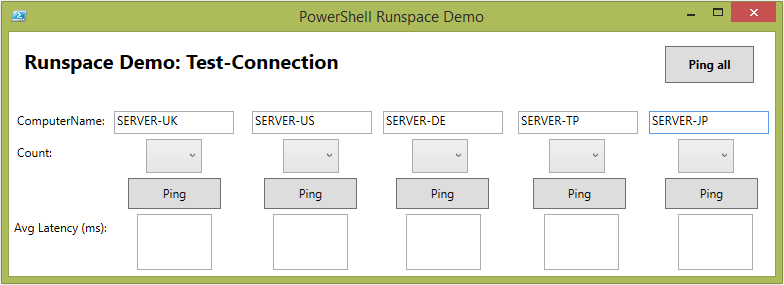 PowerShell Tip: Utilizing Runspaces for Responsive WPF GUI