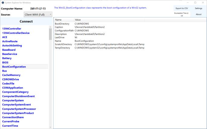 System Explorer for Windows – smsagent