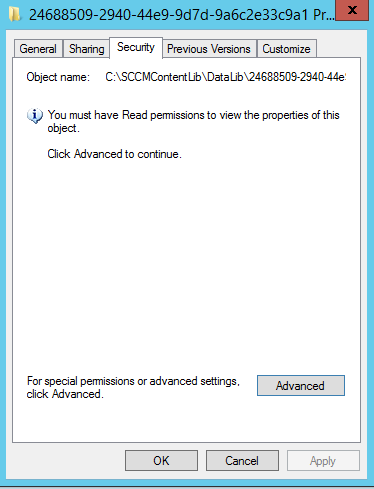 ConfigMgr Content Distribution Fails with 0x80041001 – smsagent