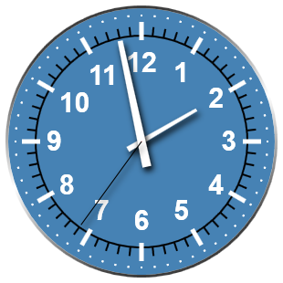 Friday fun: Create a WPF Clock Widget with PowerShell – smsagent