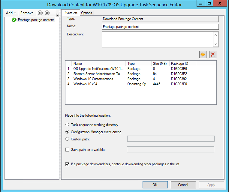 Improving the User Experience in a ConfigMgr OS Upgrade Task