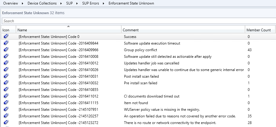 Create Collections for SCCM Software Update Installation